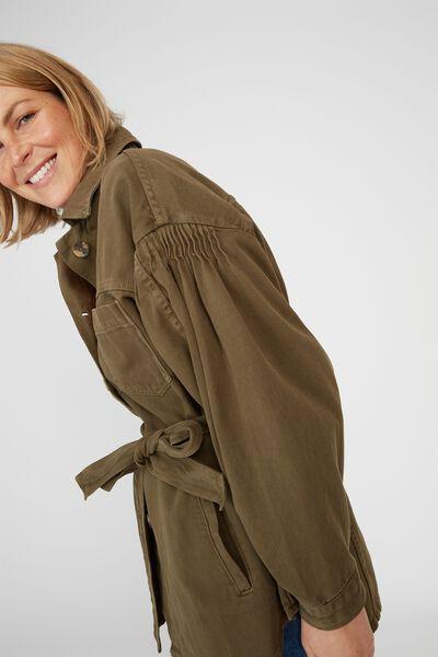 Utility Jacket, SOFT OLIVE