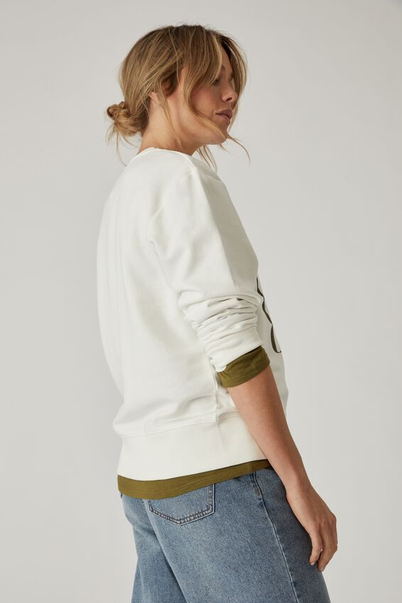 Organic Daily Sweat, WHITE SOFT OLIVE CERES