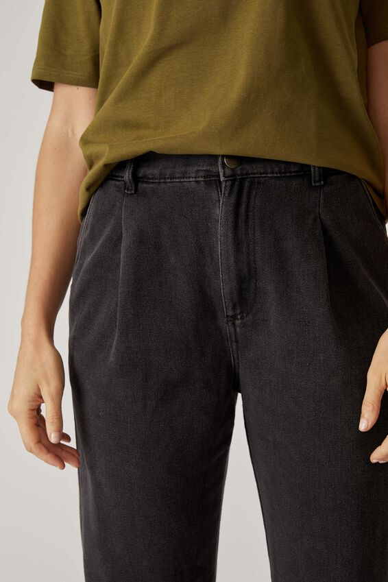 Weekend Pant, BLACK WASH