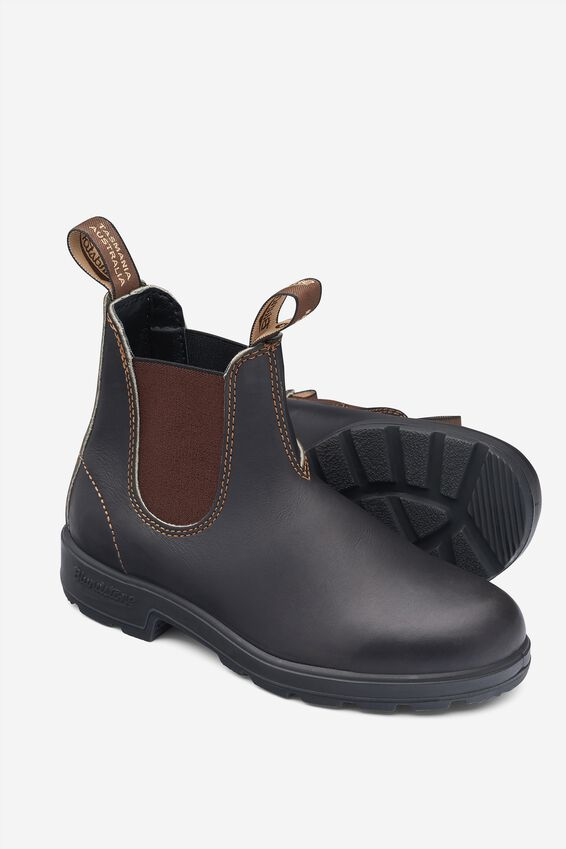 Blundstone 500 Boot, STOUT BROWN
