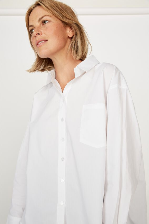 The Daily Shirt, WHITE