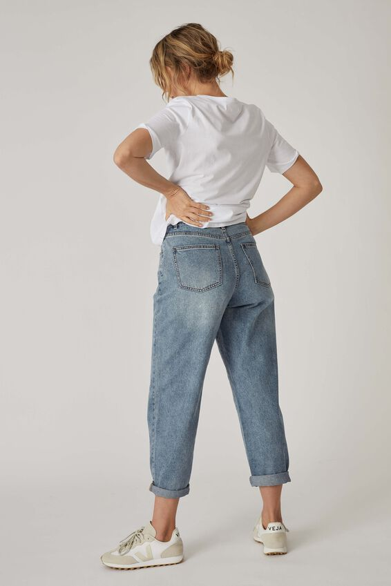 Baggy Weekend Jean, CLASSIC BLUE