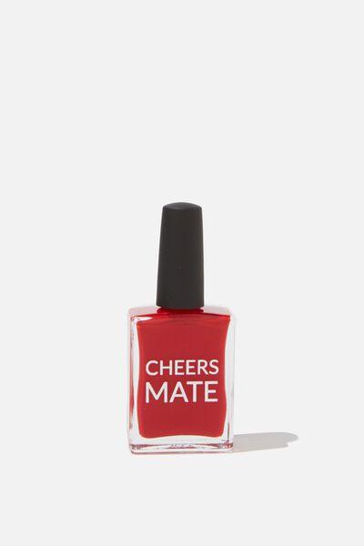 Beysis Nail Polish, RED - CHEERS MATE