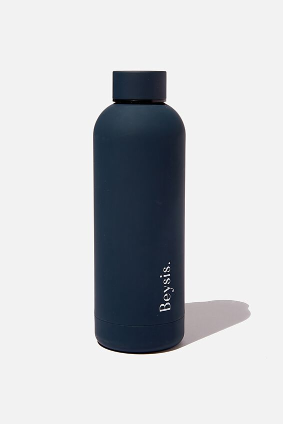 Beysis Metal Water Bottle, NAVY