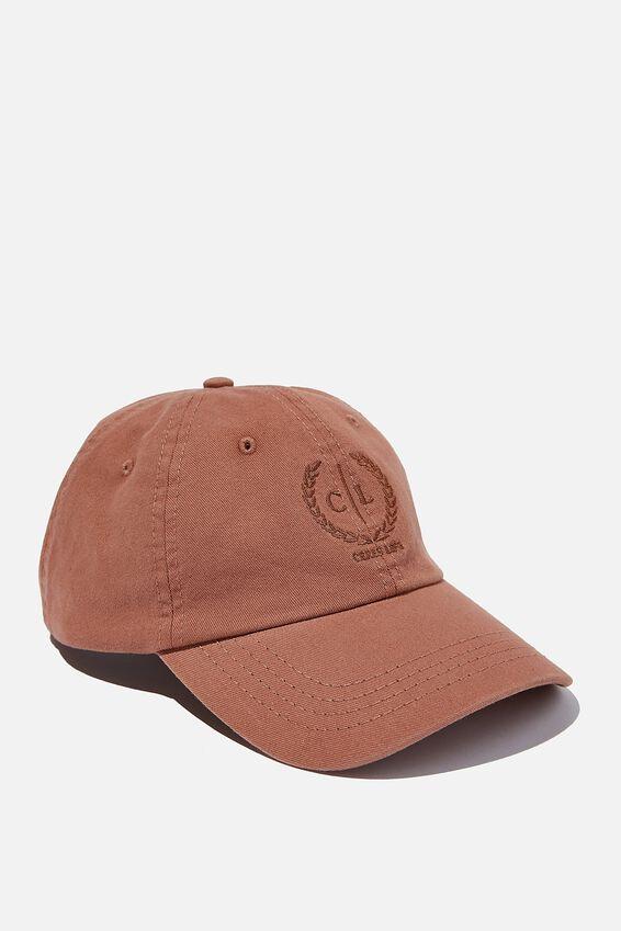 Ceres Life Logo Cap, RUST