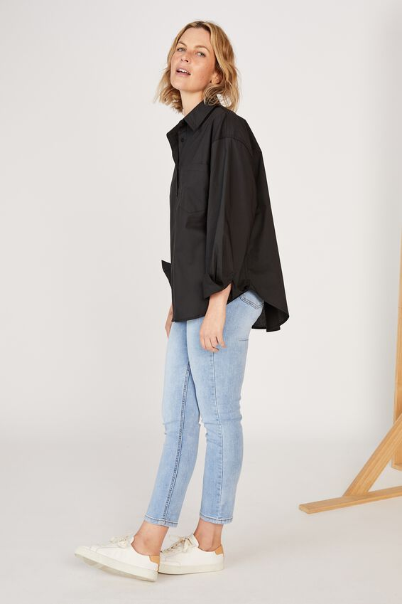 The Daily Shirt, BLACK