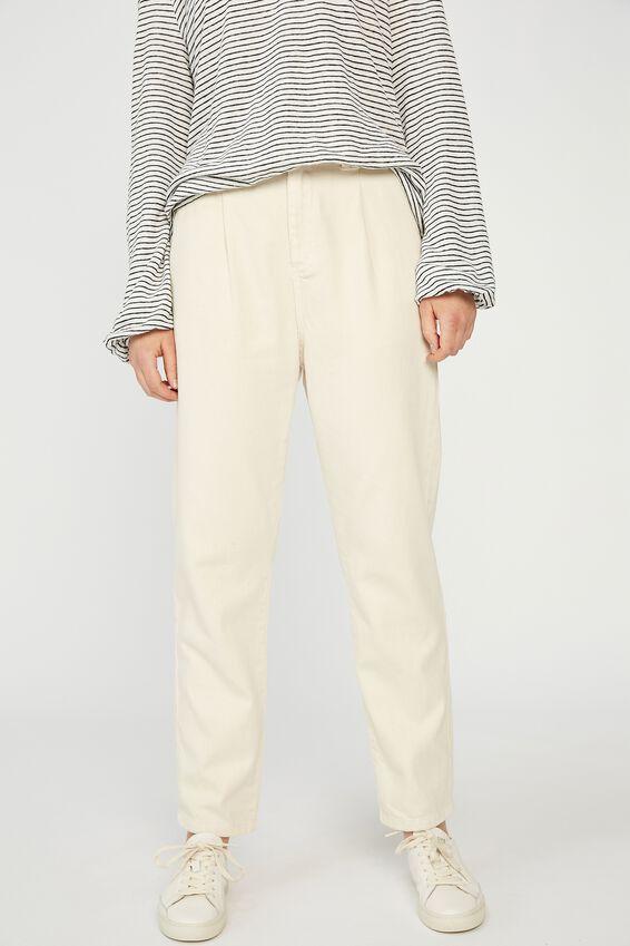 Weekend Pants, ECRU