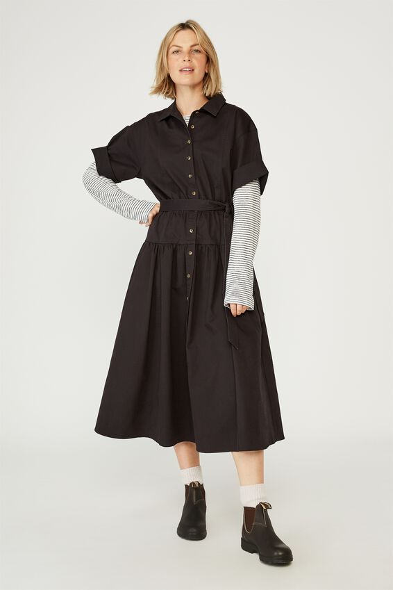 The Market Dress, BLACK