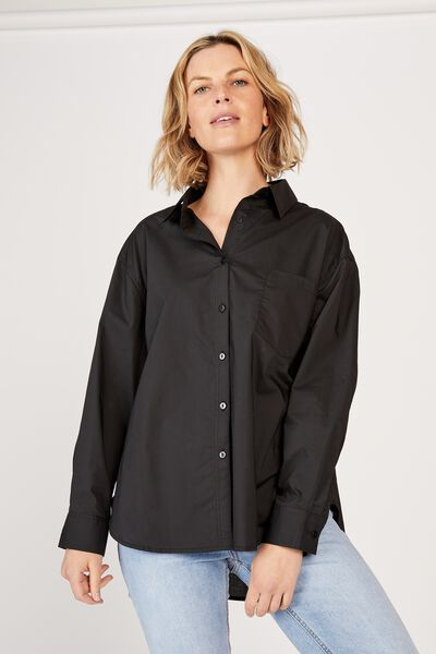 The Daily Shirt, BLACK