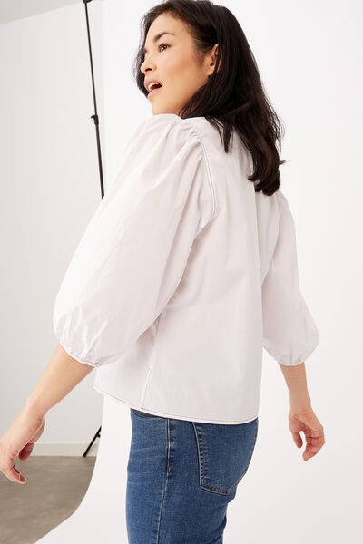 Provence Top, WHITE