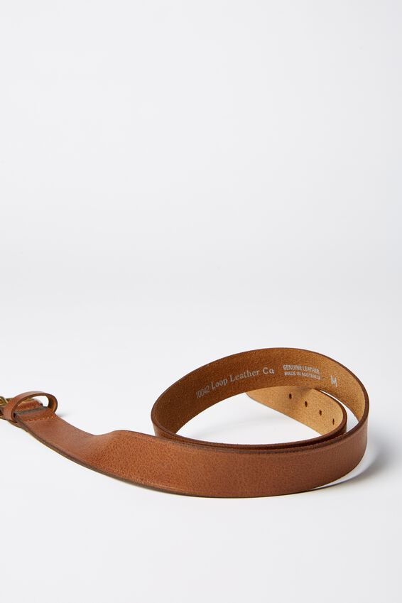 Loop Leather Co. Brookline Belt, TAN
