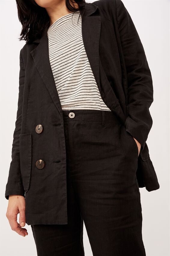 The Club Blazer, BLACK
