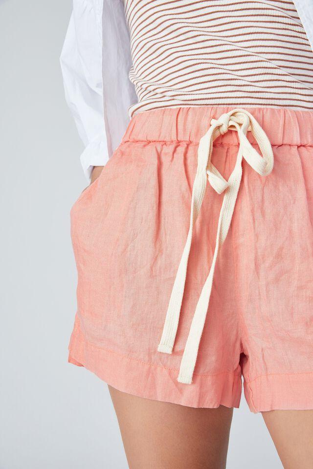Linen Short, CORAL CLOUD
