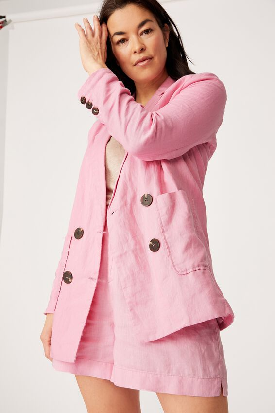 The Club Blazer, FAIRY FLOSS PINK