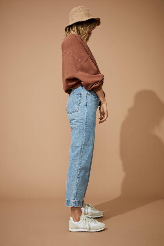 Wide Leg Jeans, VINTAGE BLUE