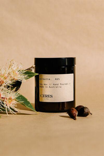 Etikette Soy Candle 175Ml, BROWN JAR
