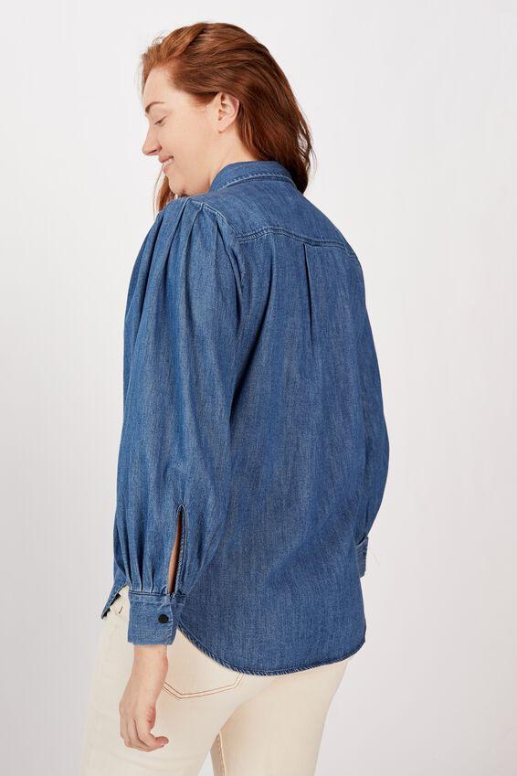 Talisman Shirt - Chambray, CHAMBRAY