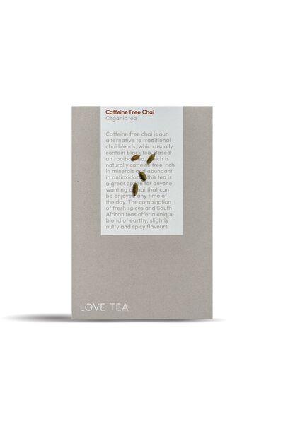 Love Tea Pyramid Tea Bags - 20, CHAI