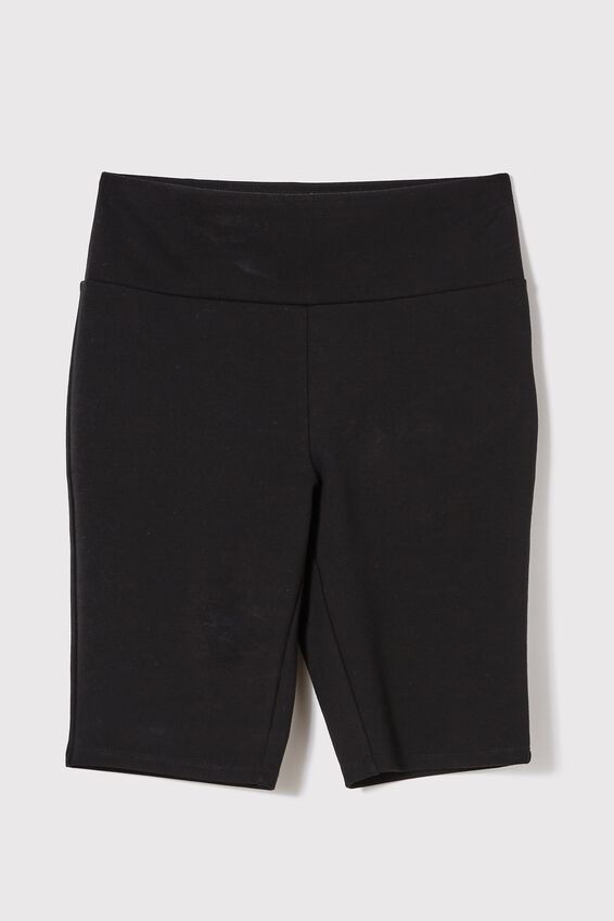 The Daily Mid Length Short, BLACK