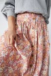 Florence Skirt, CLAY FLORAL