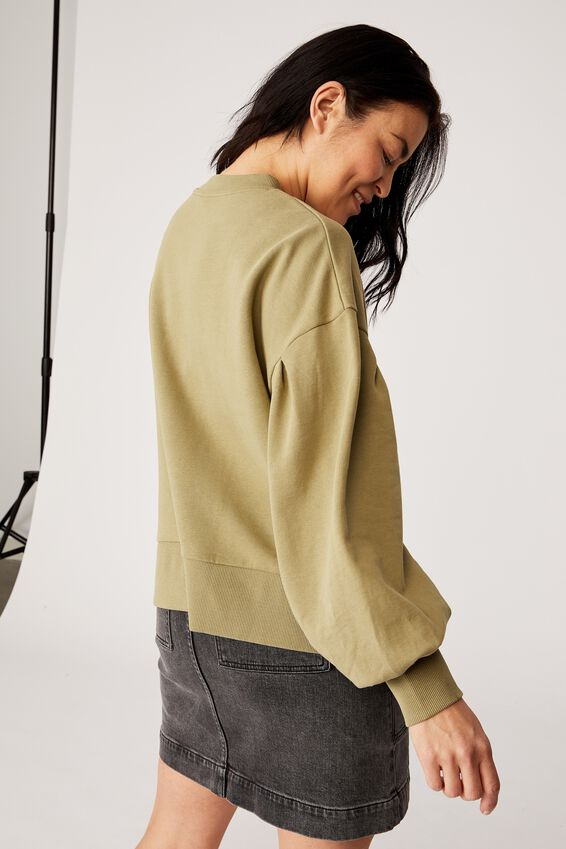 Organic Sunday Sweater, DILL