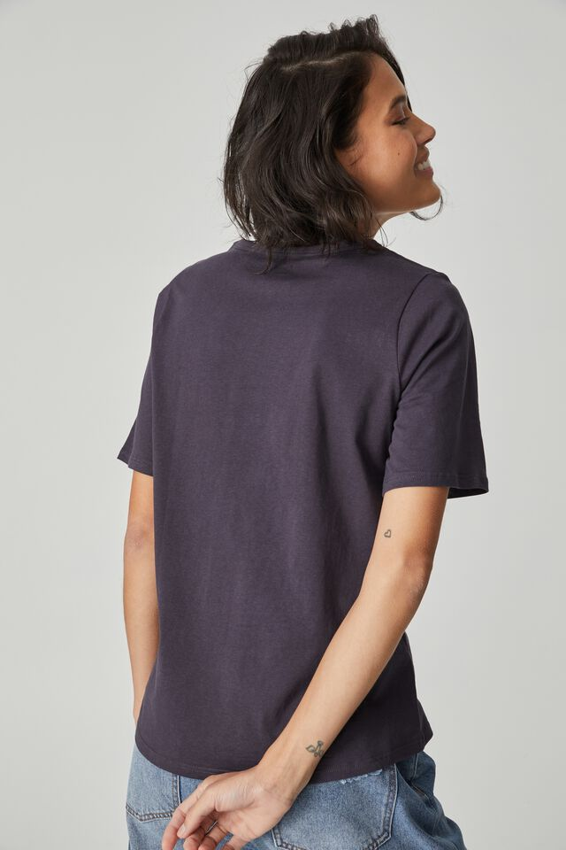 Organic Daily Print Tee, LEAD CERES ROAD