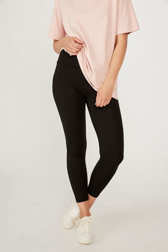The Daily Leggings, BLACK
