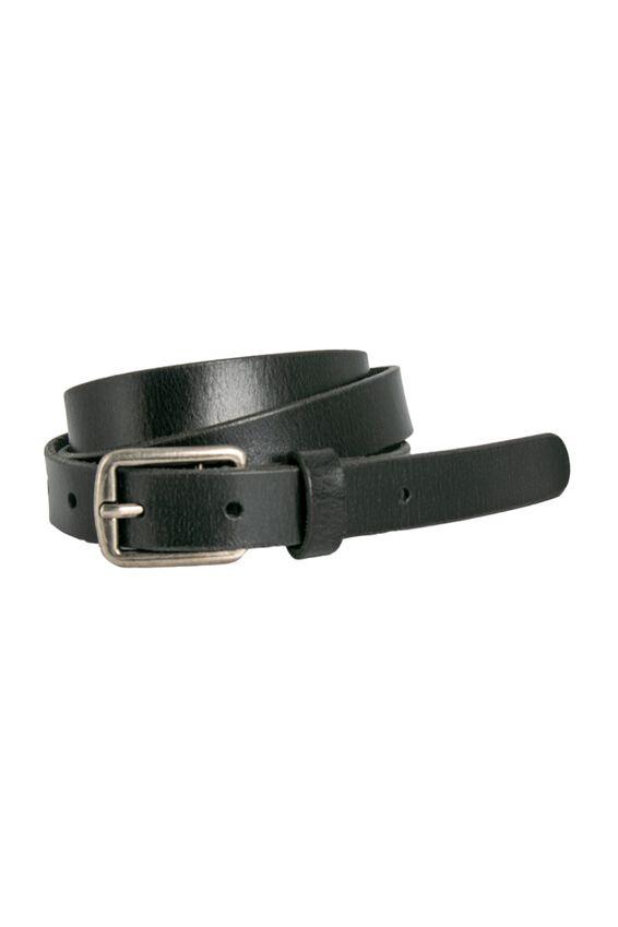 Loop Leather Co. Cloe Belt, BLACK