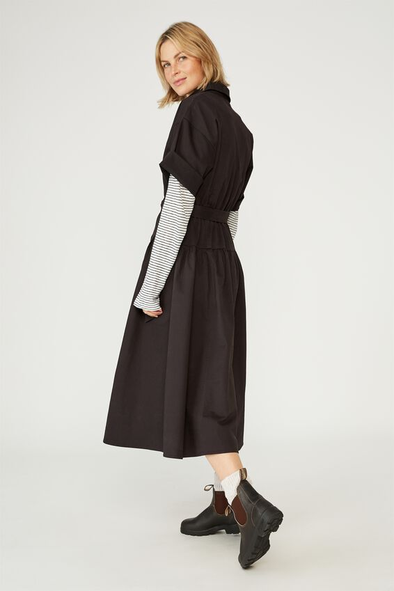 The Market Dress, BLACK