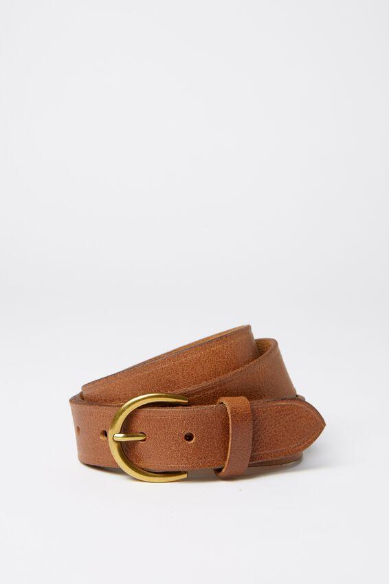 Loop Leather Co. Brookline Belt, TAN