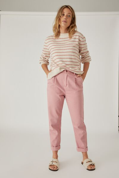 Weekend Pant, WASHED PINK