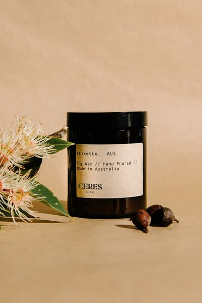 Etikette Soy Candle 175Ml, BROWN JAR