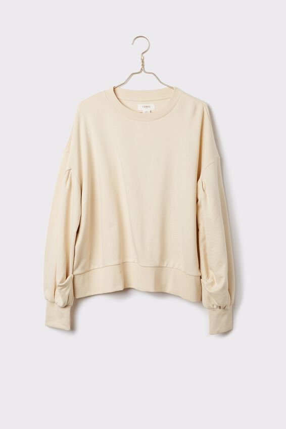 Organic Sunday Sweater, ECRU