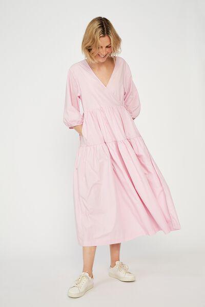 Picnic Wrap Dress, FAIRY FLOSS