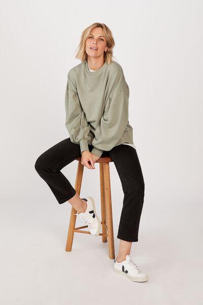 Organic Sunday Sweater, SAGE