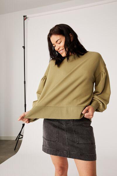 Organic Sunday Sweater, DILL