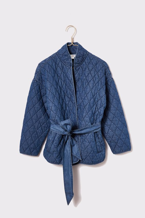 The Valley Quilted Jacket, CHAMBRAY
