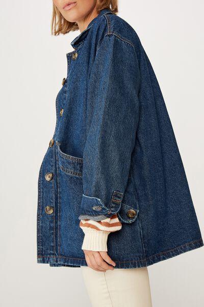 Worker Jacket, VINTAGE BLUE