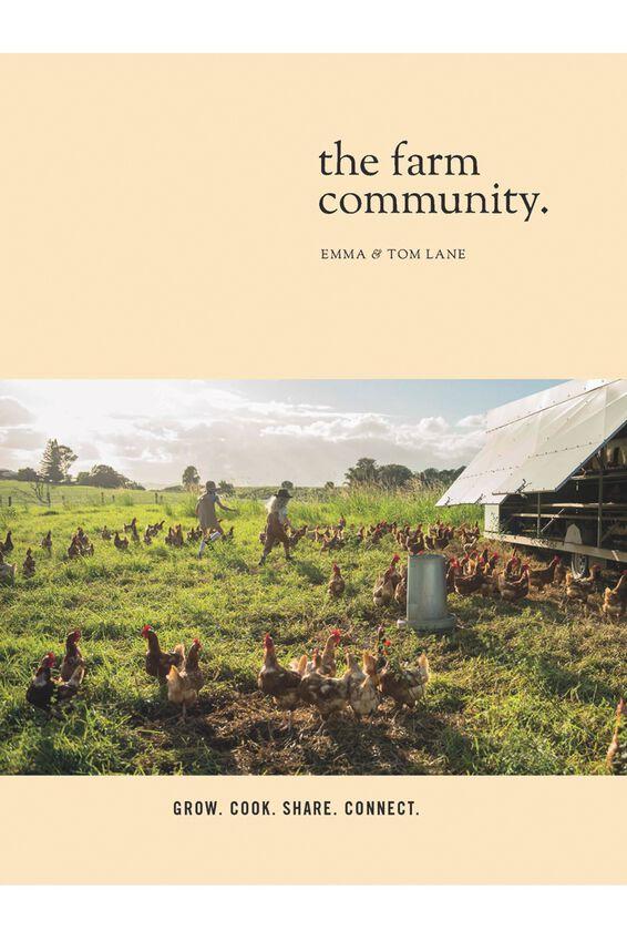 The Farm Community Book, Lane, Emma & Tom