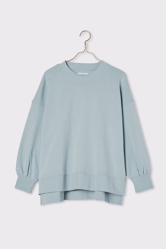 Organic Serendipity Sweat, BLUE FOG