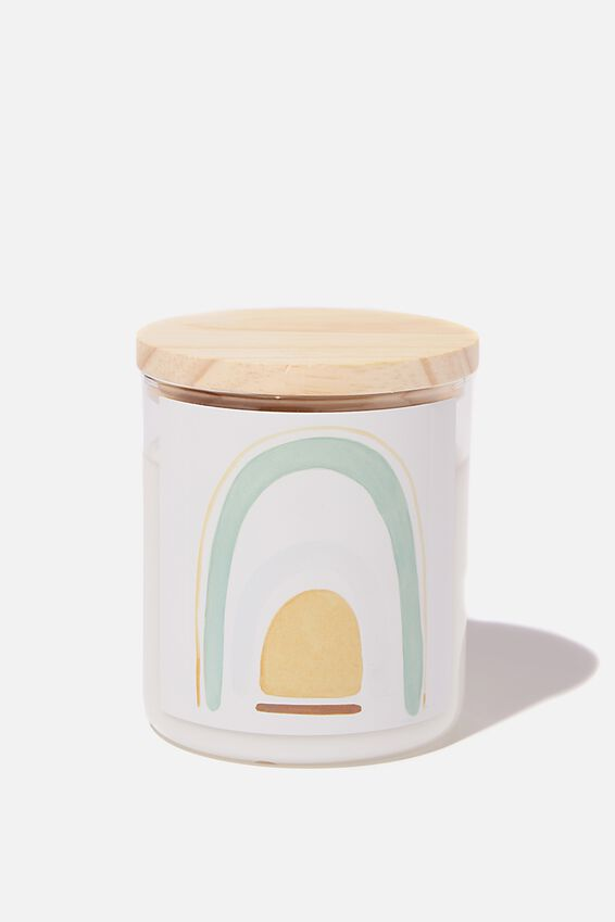 The Commonfolk Soy Candle 600G, SAGE RAINBOW